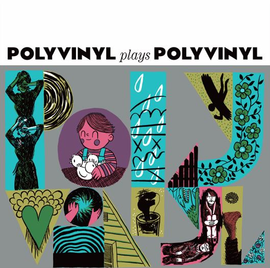 Polyvinyl Plays Polyvinyl Sampler Vinyl LP